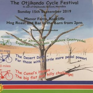 The Otjikondo Cycle Festival, in aid of Otjikondo School, Namibia