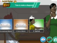 Figure 2: A Screenshot of the Game Hello Nurse