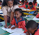 © UNESCO, Niamh Burke Schoolchildren in class