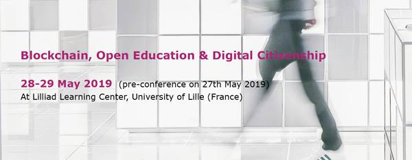 Conférence Internationale Blockchain, Open Education & Digital Citizenship